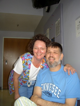 Joyce, one of my remarkable RNs