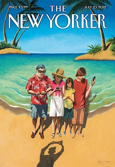 New Yorker Cover Art - Vacation