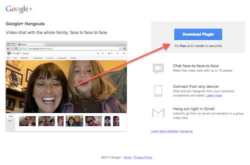 Google Hangout Plugin