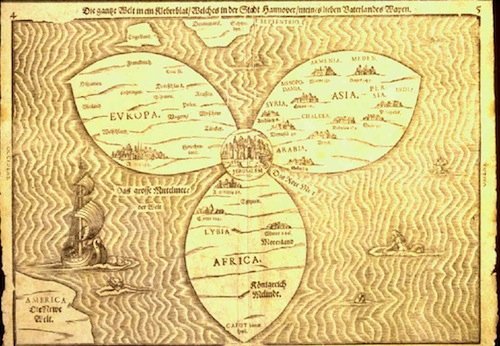Ancient Map to Jerusalem