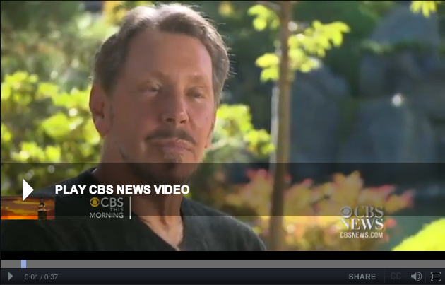 Larry Ellison Interview on CBS News
